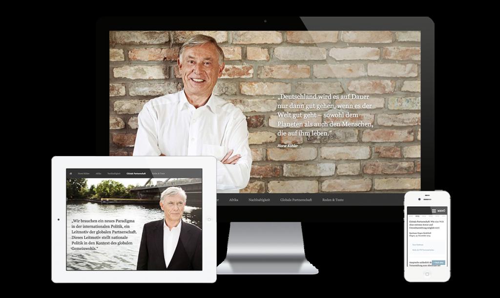 Bundespräsident a.D. Prof. Dr. Horst Köhler – Offizielle Website